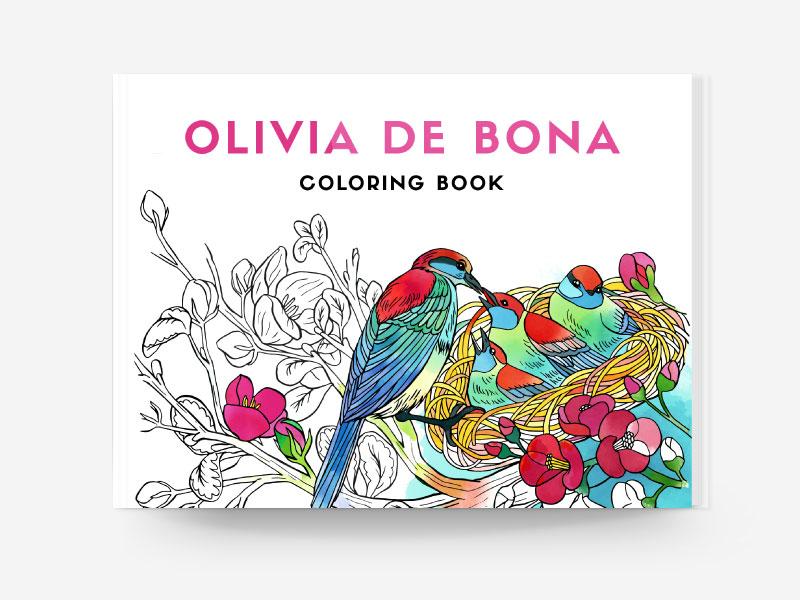 Tayasui Coloring Books